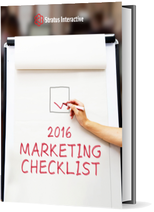 2016 Marketing Checklist
