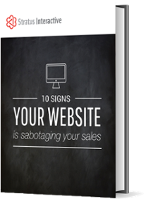 E-Book. Is Your Website Sabotaging Your Sales?